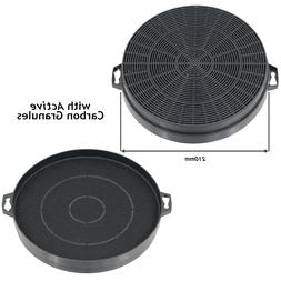 2 Carbon Charcoal Filters for PROLINE Cooker Vent Hood Extra