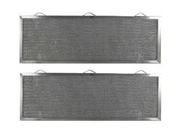 2 grease range hood vent filters