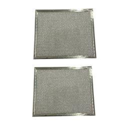 Microwave Range Hood Vent Grease Filter 8 x 9 1/2 x 1/8 Fla