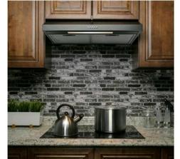ADKY 24 Inch 58 CFM Under Cabinet Convertible Range Hood in