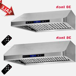 4 Speeds 30''/36'' Stainless Steel Under Cabinet Range Hood