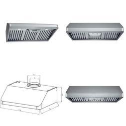 30 In. 300 Cfm Under Cabinet Range Hood In Stainless Steel W