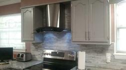 """30"""" Stainless Steel Wall Mount Range Hood & Carbon Filters f"""