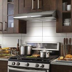 30-in Under-Cabinet Range Hood 200-CFM | Ducted/ Ductless Co