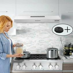 30-inch Cabinet Stainless Steel Range Hood 205CFM Ventilated