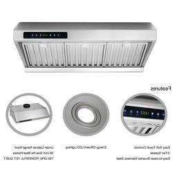 30 inch Under Cabinet Range Hood Kitchen Exhaust Stove Vent