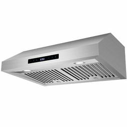 30 Inch Under Cabinet Range Hood Stainless Steel Filter 760C