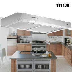 "30"" Under Cabinet Range Hood Stainless Steel Push Panel Kitc"