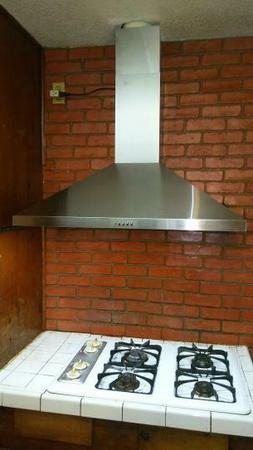 AKDY 36 in. Convertible Wall Mount Range Hood in Stainless S