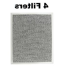 "Filters fit Broan Nutone Microtek 41F Grease Carbon 8 3/4"""