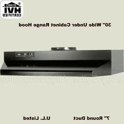 Broan 403023 Under Cabinet Vent Hood - 30 Wide - 160CFM Fan