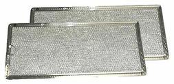 Grease Filter for GE Microwave Range Hood WB06X10596, 2 Filt