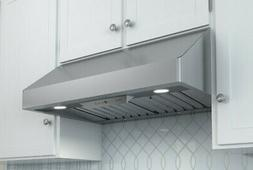 Zephyr AK7000BS Pro-Style Under-Cabinet Canopy Hood, Stainle