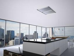 """Zephyr ALU-E43BSX 43"""" Stainless Lux Island Hood"""