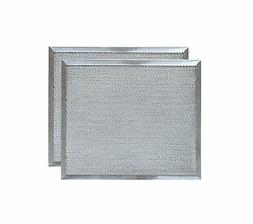 "Aluminum Range Hood Filter - 9 7/8"" X 11 11/16"" X 3/8"""