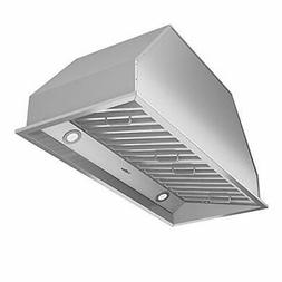 """Ancona AN-1313 Chef Series Built-in 34"""" Ducted 600 CFM Inser"""
