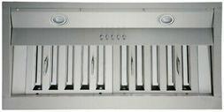 "KOBE Range Hoods INX2630SQB-700-3 Brillia 30"" Built-in/Inser"