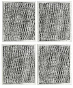 Range Hood Charcoal Filter for Broan 97007696 6105C 4-Pack