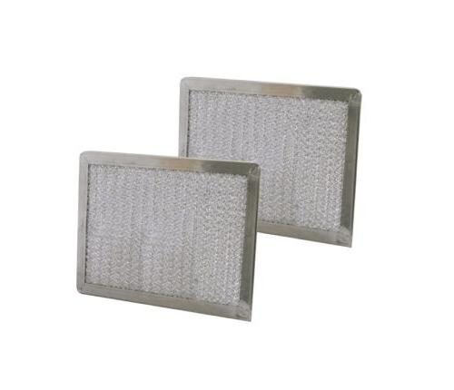 2 replacement range hood vent grease filter