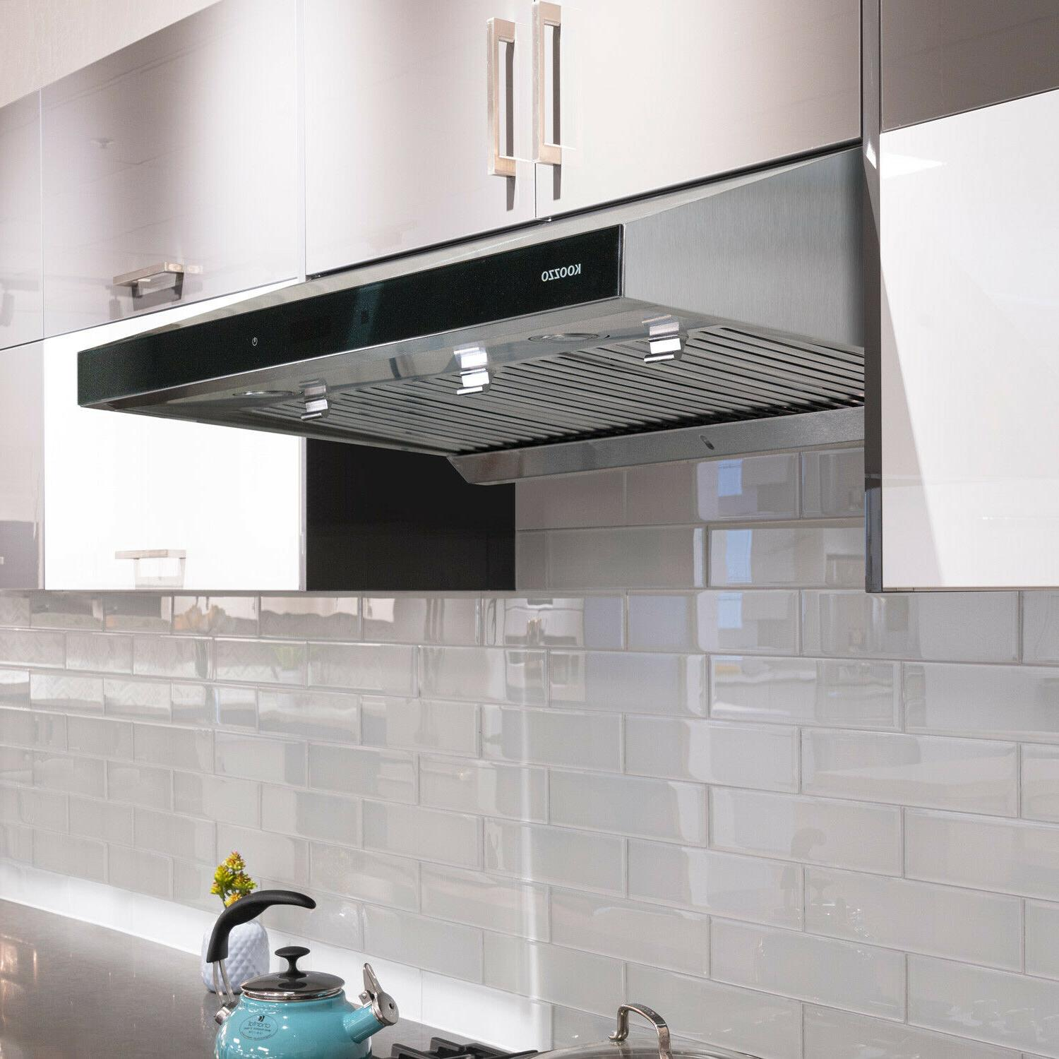 30 36 ducted under cabinet stainless steel