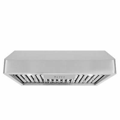 30 in ducted under cabinet range hood