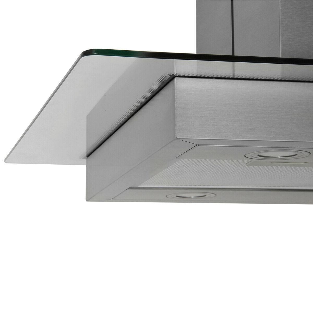 30 Range Island Mount Stainless Steel Touch Control 870 CFM