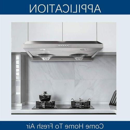 Under-Cabinet Kitchen Range Modern Design Dual