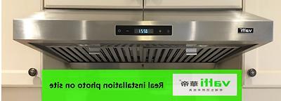 30 powerful under cabinet stainless steel range