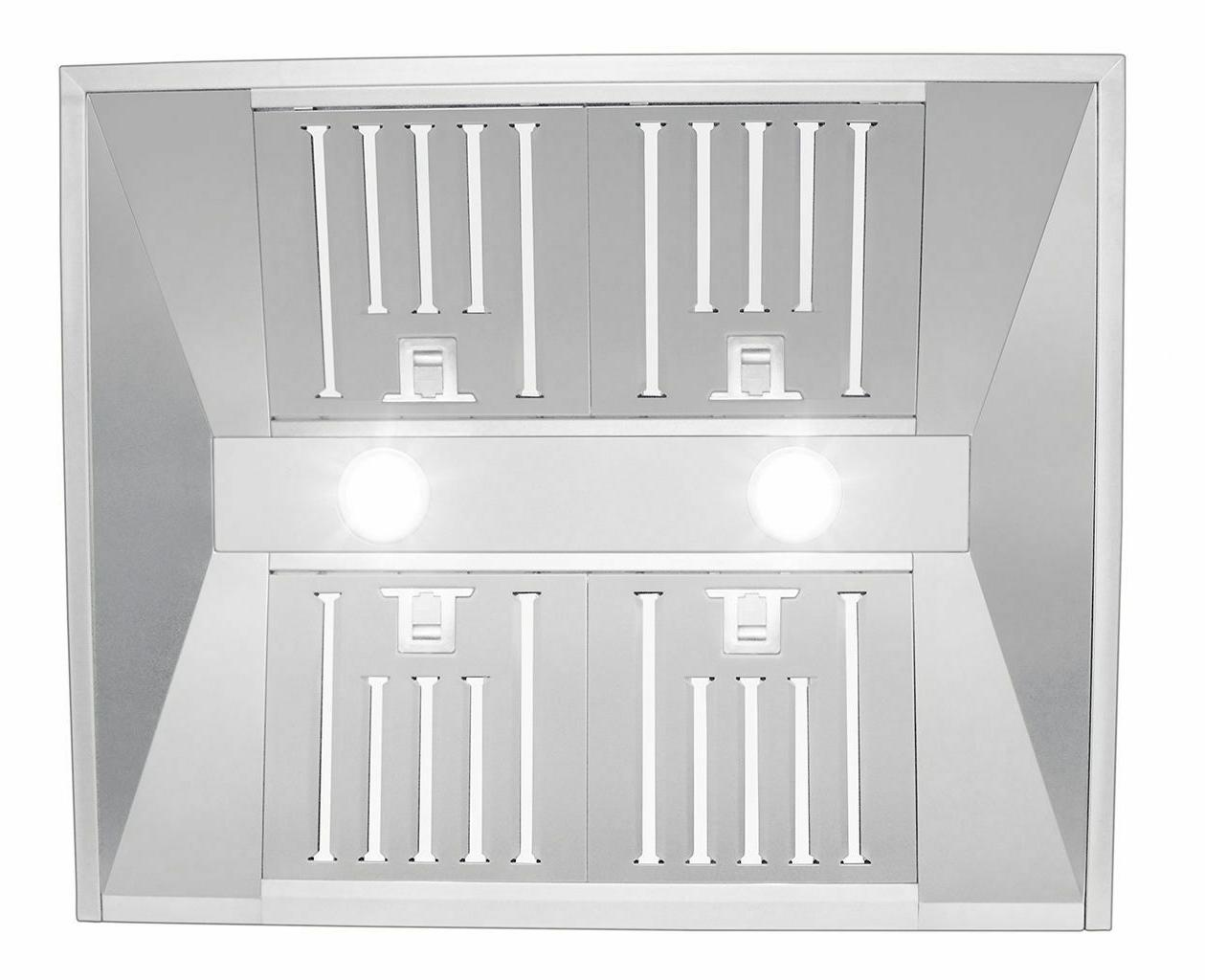 """30"""" CFM F430-30 Wall Mount Stainless"""