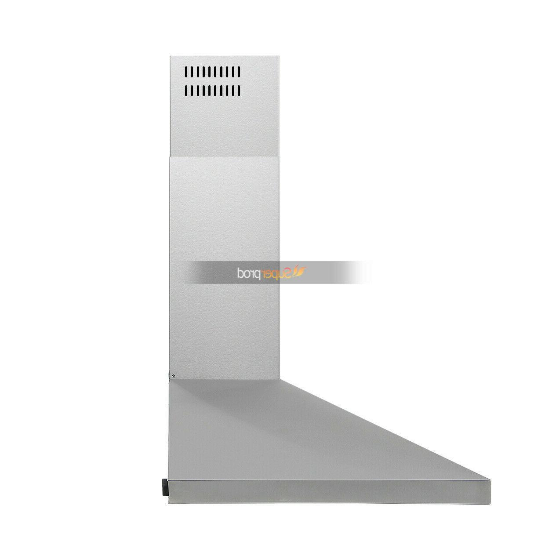 30 Mount Kitchen Hood Touch Steel