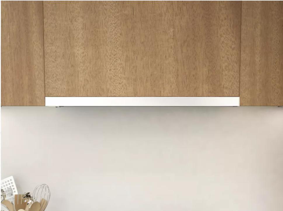 30 white under cabinet range hood