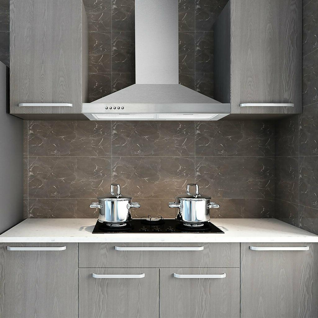 "30"" Stainless Steel Wall Mount Kitchen Range Hood 500 CFM 3"