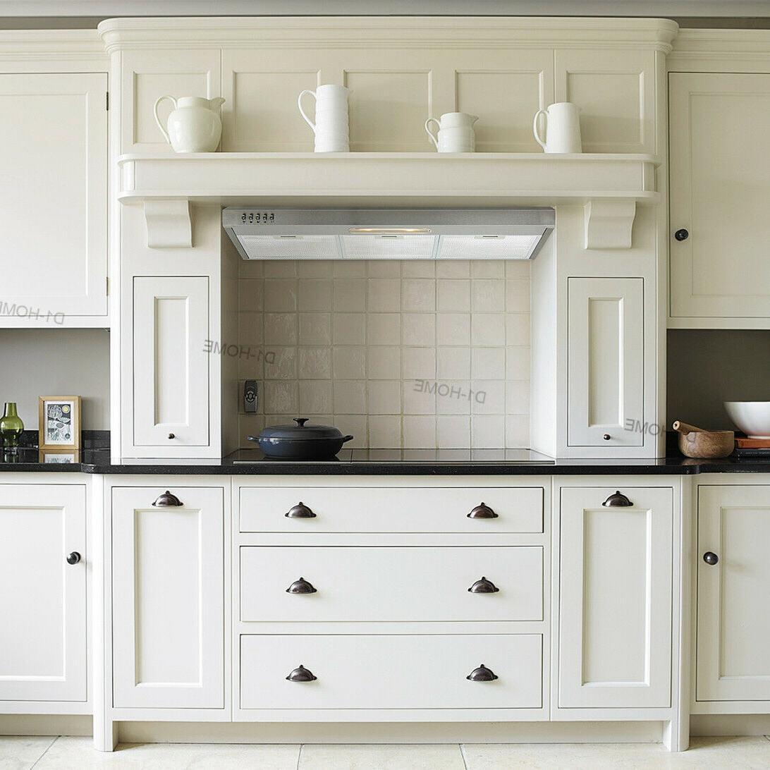 Fan Kitchen Stainless Range Hood Top/Rear