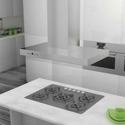 42 760 White Stainless Hood Kitchen Vent