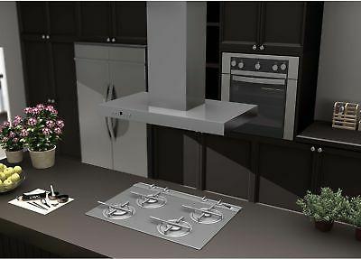 42 Inch 760 White Stainless Steel Range Hood Wall Kitchen