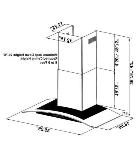 Steel Wall Mount Hood -