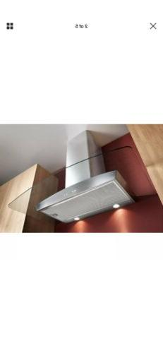 Broan 30-inch Stainless Steel And Glass Chimney Wall Hood Mo