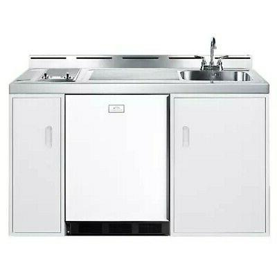c60glass 60 inch combo kitchen stainless steel