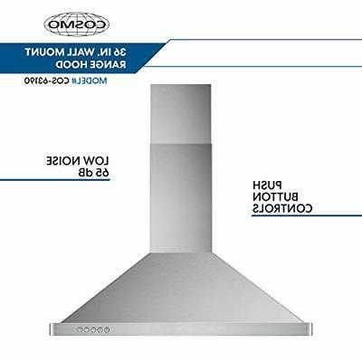 Range Hood 760-CFM Convertible Duct,
