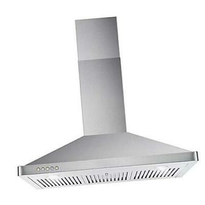 cosmo 63190 36 in wall mount range