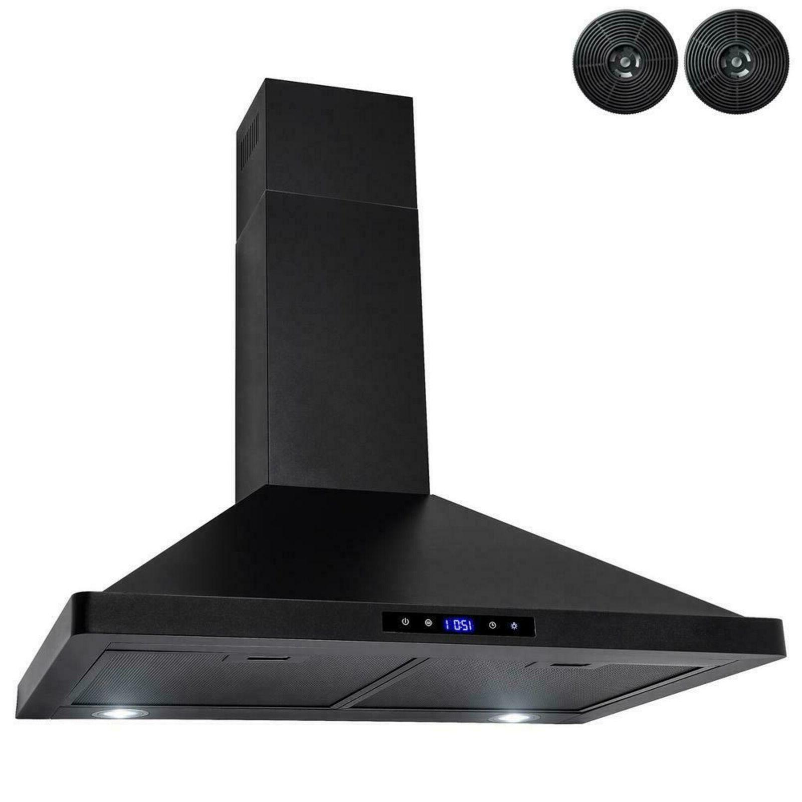 Kitchen Range Hood Convertible Wall Mount Smooth Stainless S
