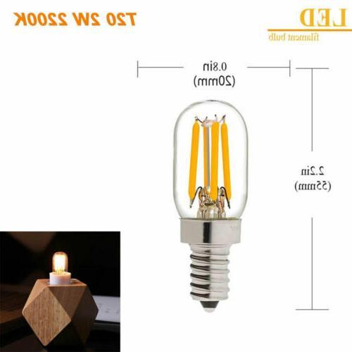 Mini Range Light Filament Bulb E14 E12 1W 2W Lamp