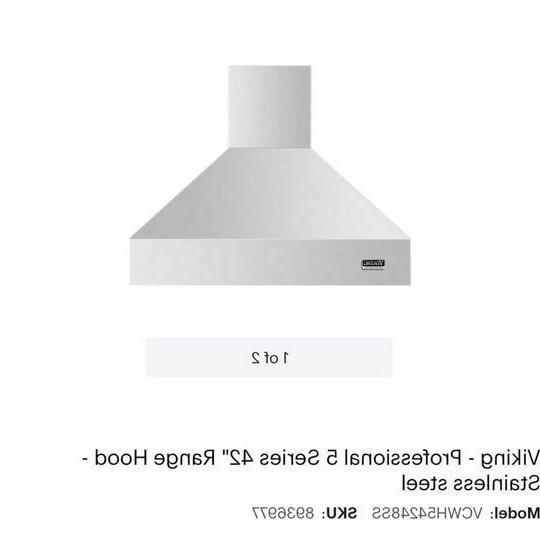 professional 5 series 42 range hood stainless