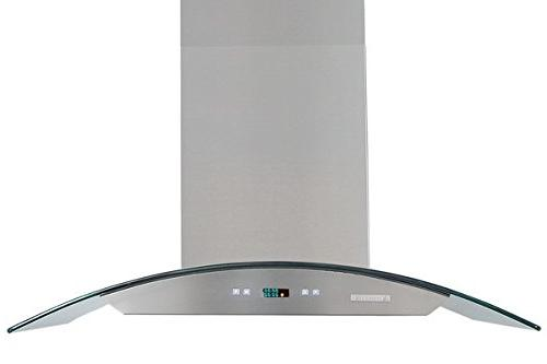 XtremeAir LED lights, Both Side accessible Baffle W/ Grease Tunnel, 8.0mm Capony Temper Island