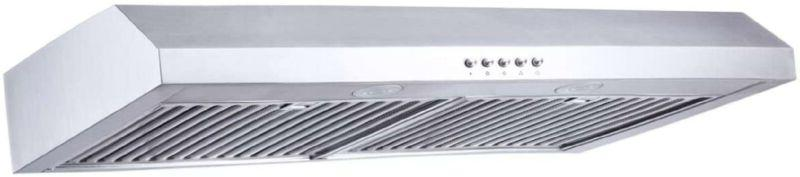 """Range 30"""" Kitchenexus Stainless Steel Ducted/Ductless Under"""