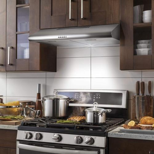 range hood under cabinet fan cfm kitchen