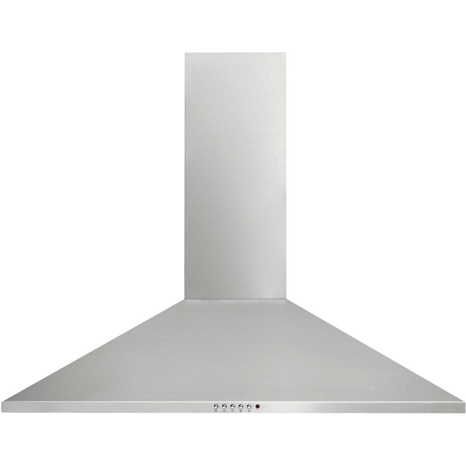 stainless steel 30 canopy wall mount range