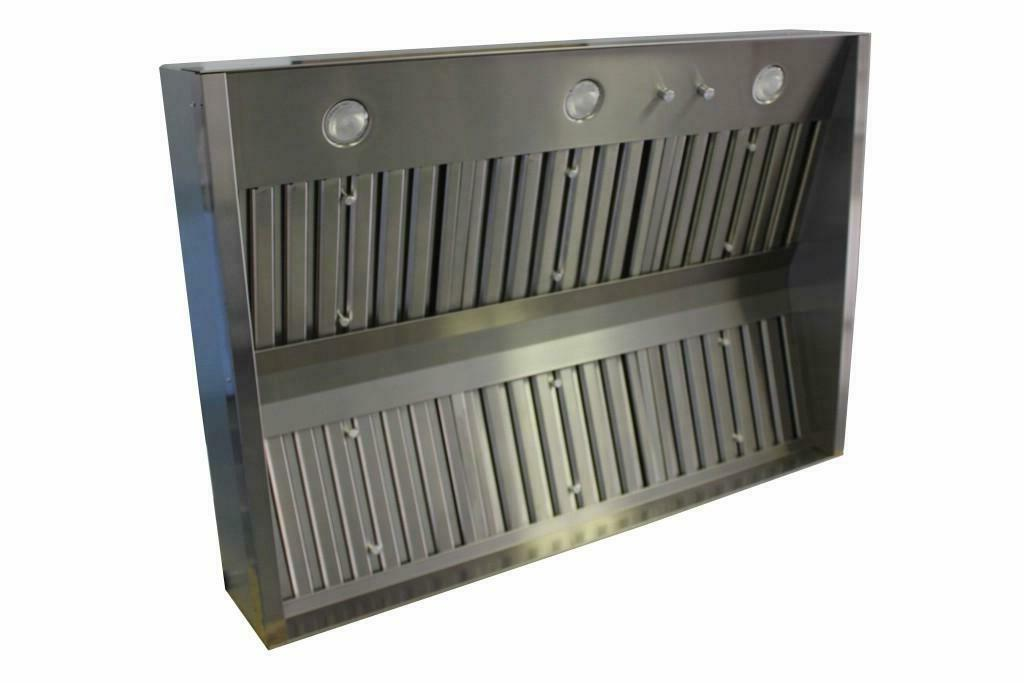 trade wind l7200 series stainless steel hood