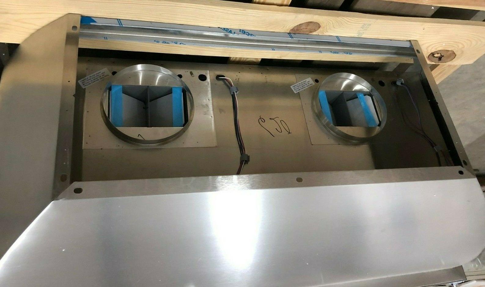 Vent-A-Hood JCH454/B1-09SS Mount Steel