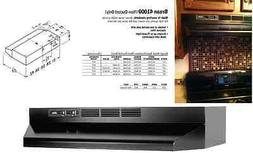 NEW! Broan 30 Inch Hood Vent Non-Ducted Kitchen Range Stove